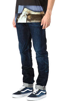 PRPS Fury dark indigo regular-fit tapered jeans