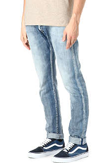 PRPS Fury light-washed regular-fit straight jeans
