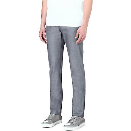 J BRAND Tyler slim-fit straight jeans (Silver