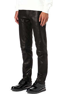 J BRAND Tyler leather trousers