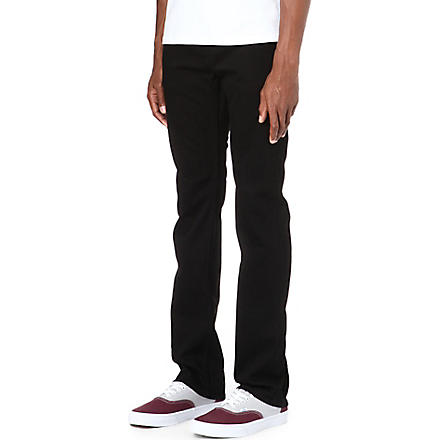 J BRAND Kane slim-fit straight jeans (Black