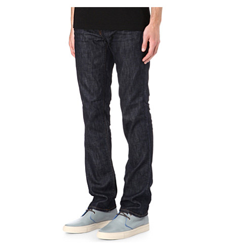 J BRAND Kane Resonate slim-fit straight jeans (Indigo