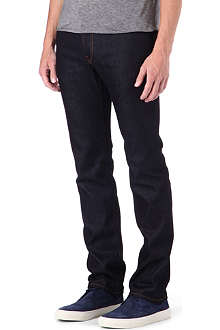 J BRAND Kane Raw slim-fit straight jeans