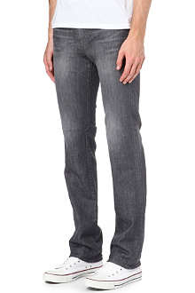 J BRAND Kane Linear slim-fit straight jeans