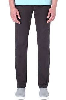 J BRAND Slim-fit mid-rise chinos