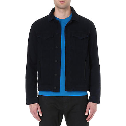 J BRAND Cotton jacket (Navy
