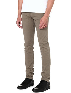 J BRAND Mick overdyed skinny-fit jeans