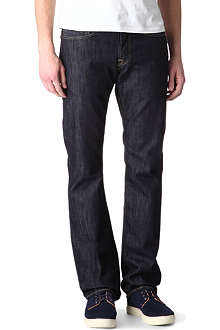 EDWIN Regular-fit straight Selvedge jeans