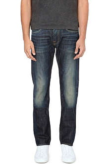 EDWIN ED-55 relaxed-fit tapered jeans