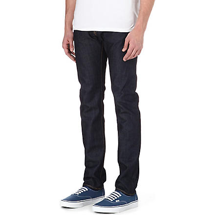 EDWIN ED-80 slim-fit tapered jeans (Unwashed