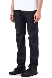 EDWIN 55 Rainbow selvedge relaxed-fit jeans