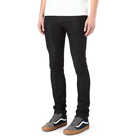 EDWIN ED-88 CS-Rider slim-fit tapered jeans (Unwashed