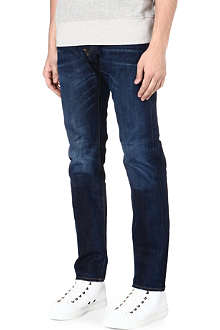 EDWIN ED-80 Rainbow selvedge slim-fit tapered jeans