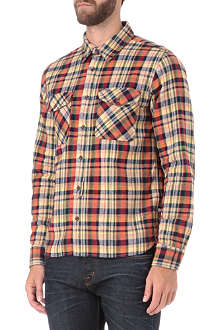 EDWIN Heavy flannel check shirt