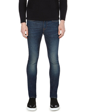 EDWIN ED-88 skinny-fit tapered jeans