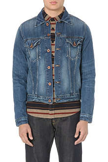 EDWIN Washed denim jacket