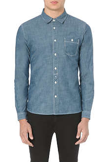 EDWIN Slub chambray shirt