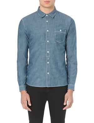 EDWIN Slub chambray shirt