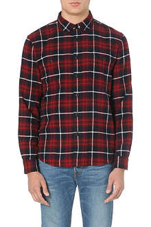 EDWIN Herringbone checked shirt