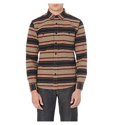 EDWIN Labour striped shirt (Multi