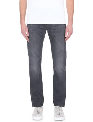 EDWIN Ed-55 relaxed-fit mid-rise jeans