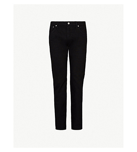 CITIZENS OF HUMANITY Bowery slim-fit tapered jeans (Black