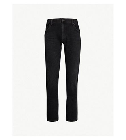 CITIZENS OF HUMANITY 巴利修身版型褪色的牛仔裤 (拉克