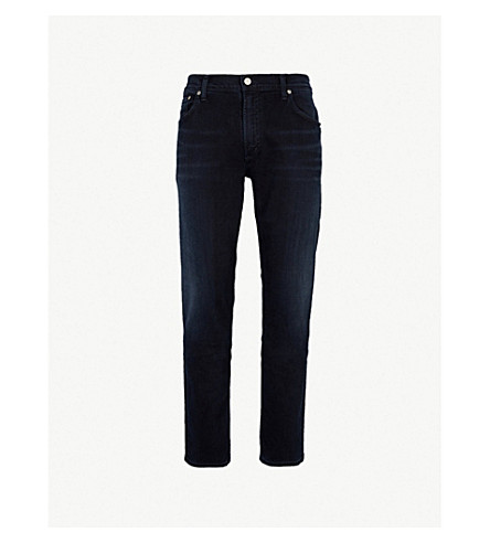 CITIZENS OF HUMANITY Bowery slim-fit straight stretch-denim jeans (Ink