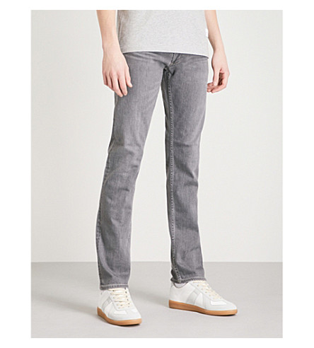 CITIZENS OF HUMANITY Bowery slim-fit tapered jeans (Greyhound