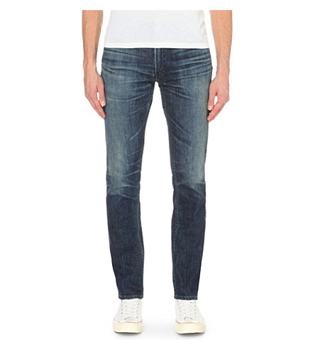 CITIZENS OF HUMANITY Bowery slim-fit mid-rise jeans (Wild
