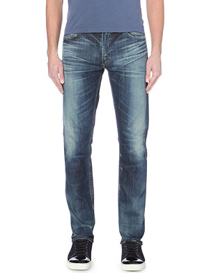 CITIZENS OF HUMANITY Durango slim-fit distressed jeans