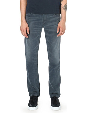 CITIZENS OF HUMANITY Slim-fit straight-cut Bad Lands jeans