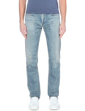 CITIZENS OF HUMANITY Cody slim-fit straight distressed jeans