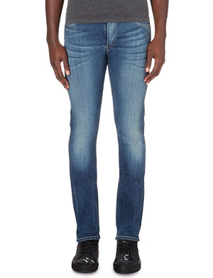 CITIZENS OF HUMANITY Slim-fit tapered stretch-denim jeans
