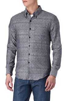 NAKED AND FAMOUS DENIM Quilted shirt