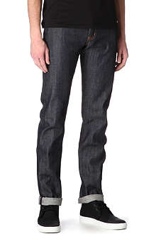 NAKED AND FAMOUS DENIM Regular-fit tapered jeans