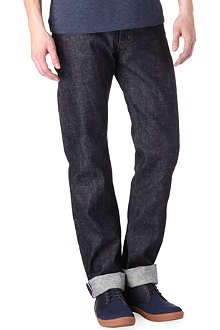 NAKED AND FAMOUS DENIM Weird Guy tapered jeans