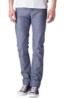 NAKED AND FAMOUS DENIM Slim-fit straight jeans