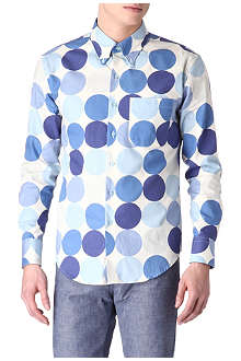 NAKED AND FAMOUS DENIM Giant Dots shirt