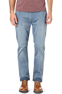 DENHAM Patrol stretch-gabardine trousers