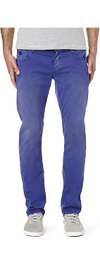 DENHAM Skin slim-fit stretch-Gabardine jeans