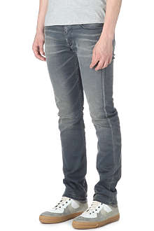 DENHAM Upgrader Aged regular-fit skinny jeans