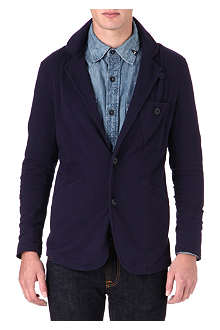 DENHAM Tailored sweat blazer