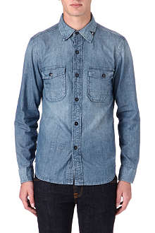 DENHAM Uniform denim shirt