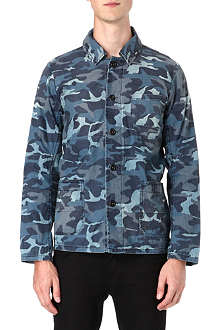 DENHAM Camo shirt jacket