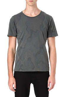 DENHAM Tribute camo t-shirt