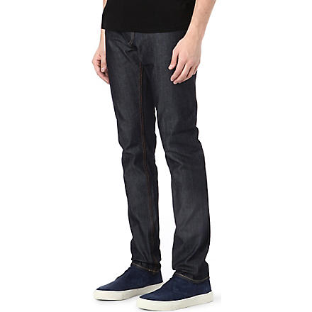 DENHAM Bolt regular-fit skinny jeans (Indigo