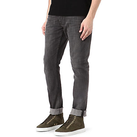DENHAM Razor slim-fit tapered jeans (Grey
