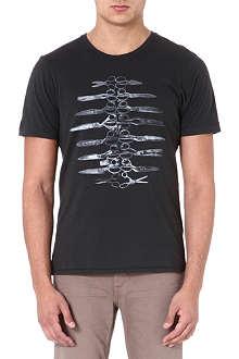 DENHAM Scissor Rib t-shirt