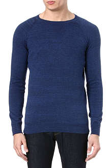 DENHAM Crew-neck knitted jumper
